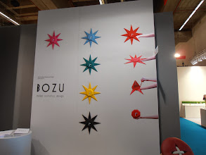 Photo: Gemstone wall clock... or table clock. However you decide to fold it. Bozu, www.bozu.it #ambiente14