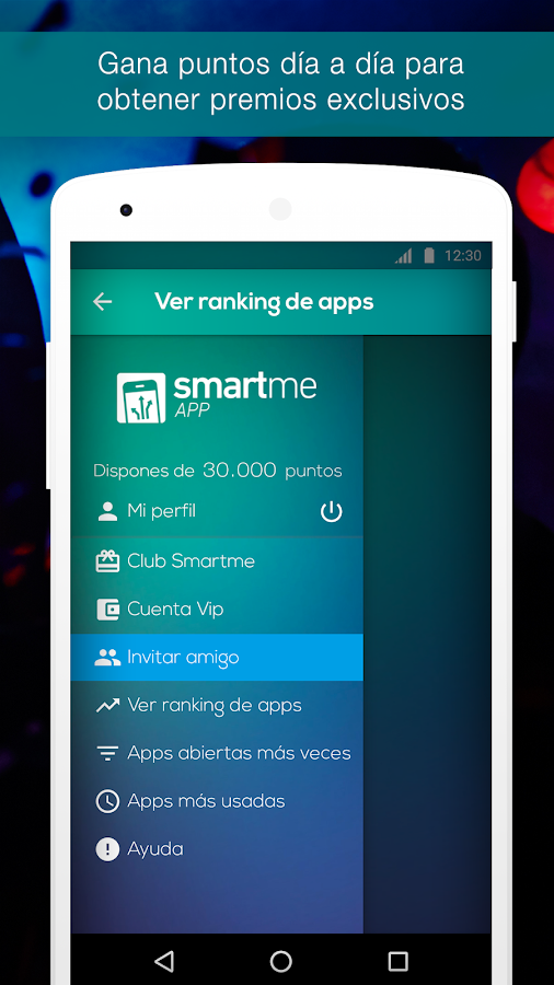 Smartme App- screenshot