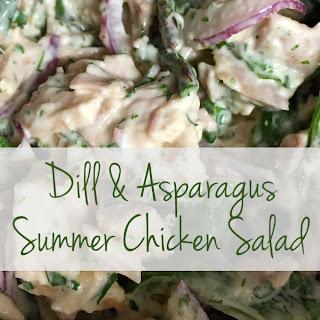 Dill & Asparagus Summer Chicken Salad