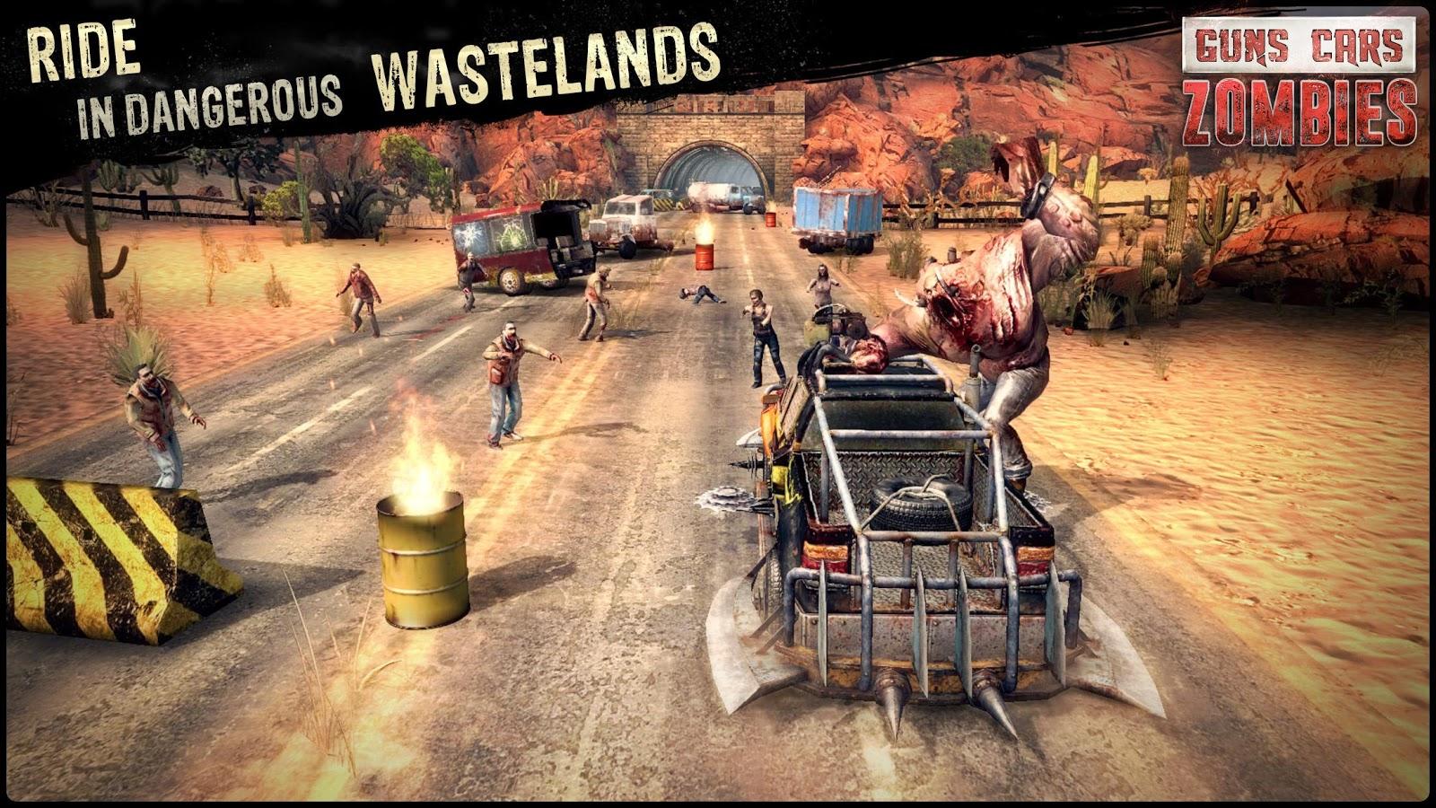 Guns cars and zombies screenshot