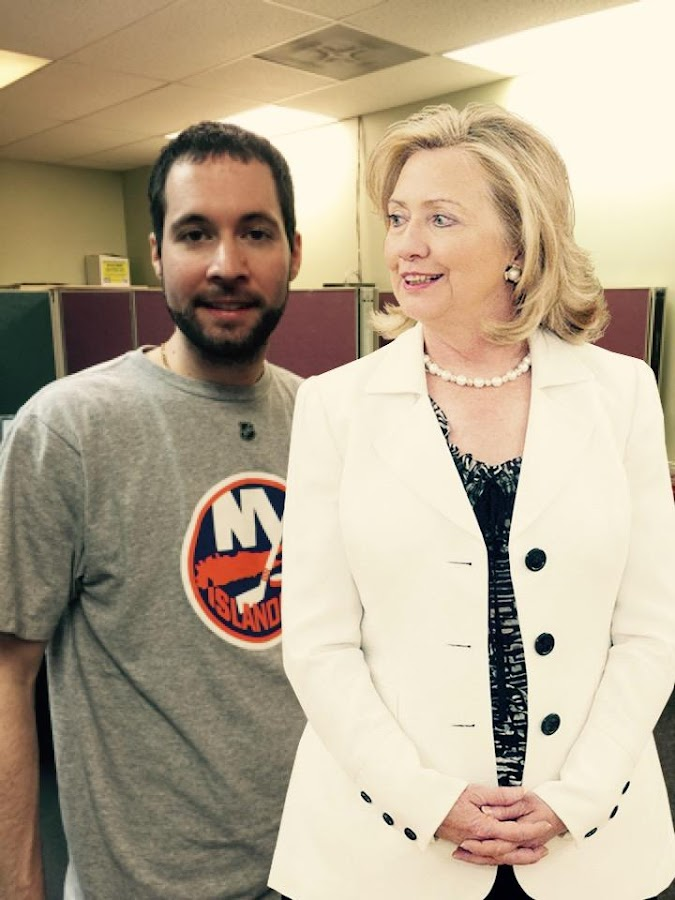 Picture Me With Hillary- screenshot