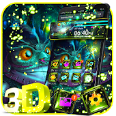 Cute Magic Owl 3D Glass Tech Theme ? Android APK Download Free By ThemesDesignStudio