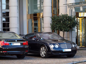 Photo: 7er BMW, Bentley.