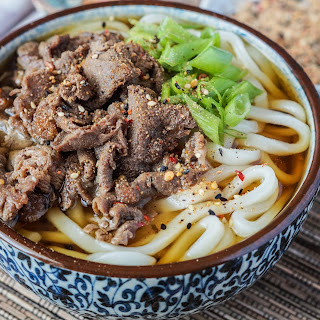 Niku Udon (Japanese Meat Udon).