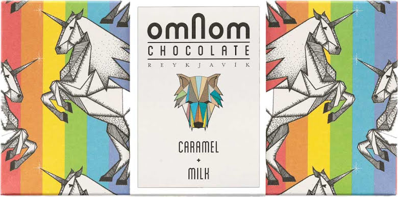 Karamell & mjölkchokladkaka – Omnom Chocolate