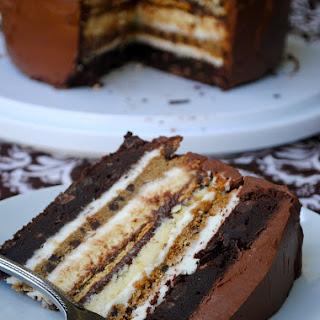 Ultimate S'More Anniversary Cake