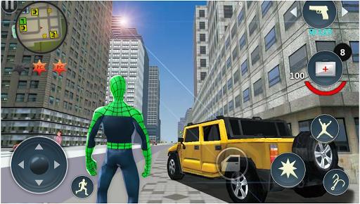 Spider Rope Hero - Gangster Crime City  screenshots 4