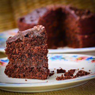 Jamaican Chocolate Guinness Cake