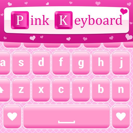 Pink Love Keyboard Themes