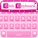 Pink Love Keyboard Themes icon
