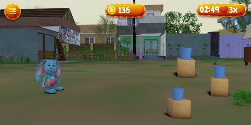 Lempar Bola Riska dan Gembul screenshot 4