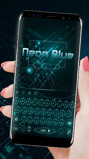 Blue Neon Technology Keyboard for PC