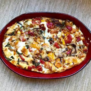 Vegetarian Breakfast Casserole.