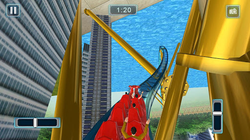 Reckless Roller Coaster Sim: Rollercoaster Games 1.0.6 screenshots 1