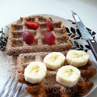 Oatmeal Waffles!