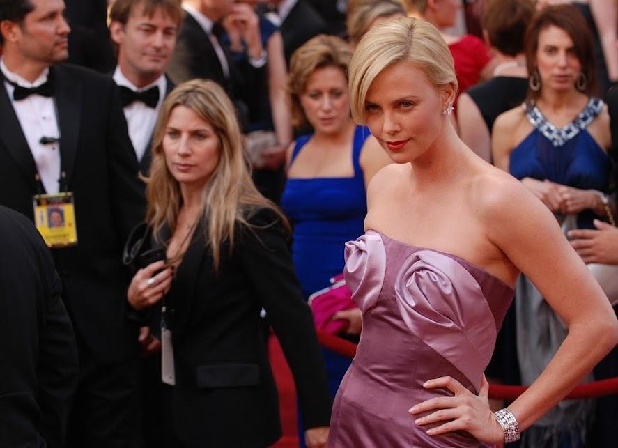 シャーリーズセロンの, 芸能人, 女優, 星, 知られています, 有名人, ハリウッド, 女性, 華やかです