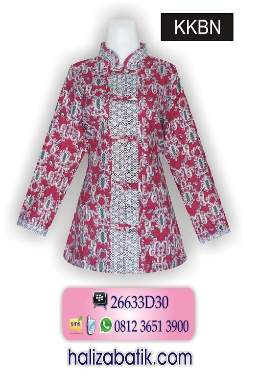 bisnis baju batik, model baju batik kerja, busana batik modern
