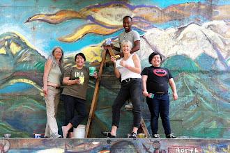 Photo: Community service project