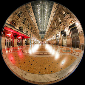 Galleria Vittorio Emanuele by Luca Libralato - Digital Art Places ( milan, galleria vittorio emanuele, milano by night, piazza duomo, duomo, milano )