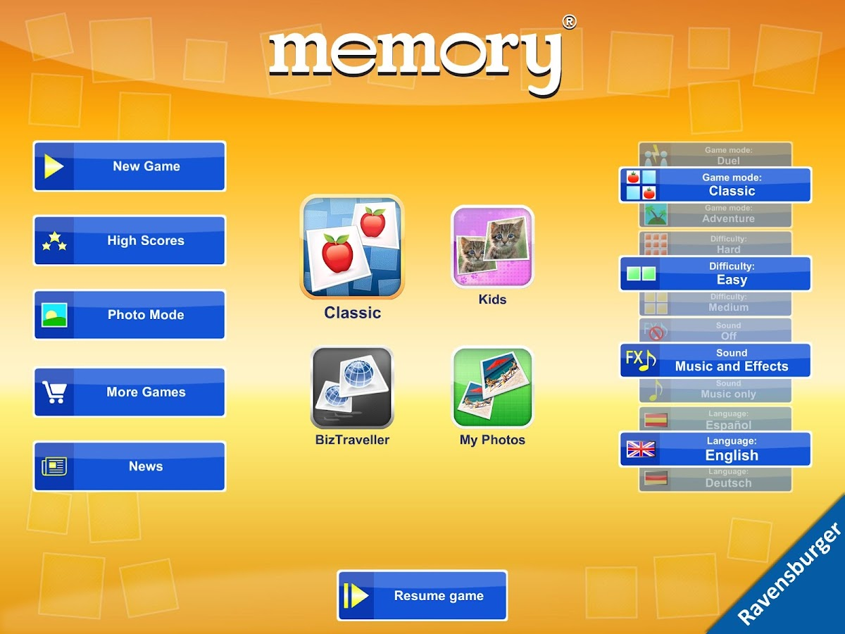 memory®- screenshot
