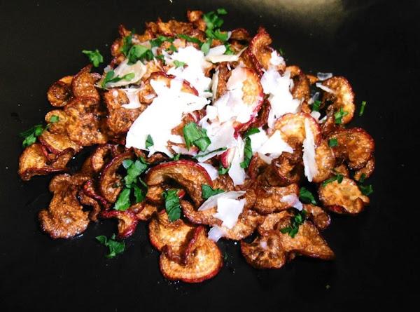 Radish Chips W/truffle Oil & Parmesan Recipe