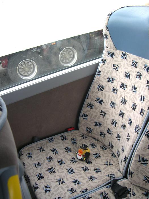 Photo: my seat