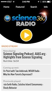 Science360 Radio- screenshot thumbnail