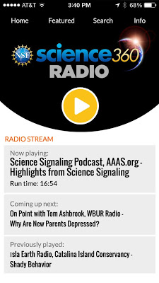 Science360 Radio - screenshot
