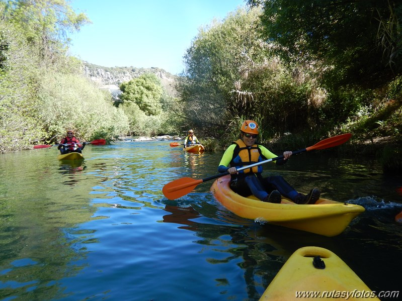 Kayak Rio Guadiaro