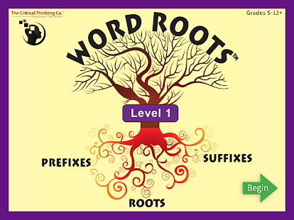 Word Roots Level 1- screenshot thumbnail