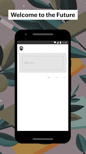 Screenshot 2 for Ello's Android app'