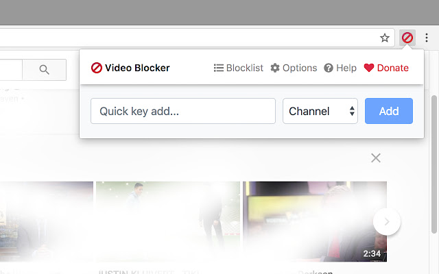 Video Blocker