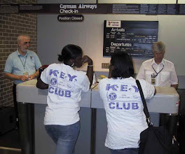 Photo: Checking-in