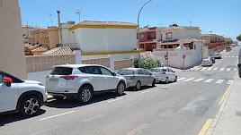 La calle Doñana, una de las afectadas por el Plan