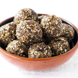 Cherry Almond Energy Balls {Vegan, Gluten Free}.