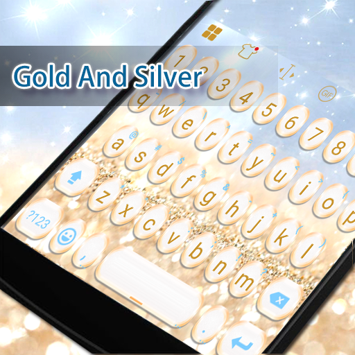 Gold And Sliver Eva Keyboard 遊戲 App LOGO-硬是要APP
