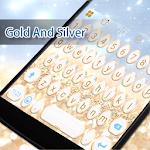 Gold And Sliver Eva Keyboard