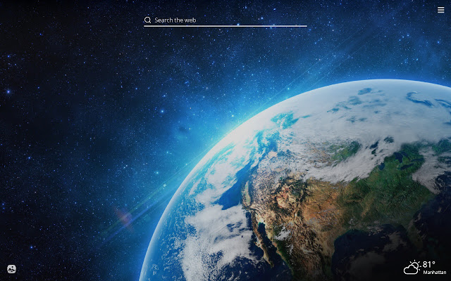 Planet Earth HD Wallpapers New Tab Theme