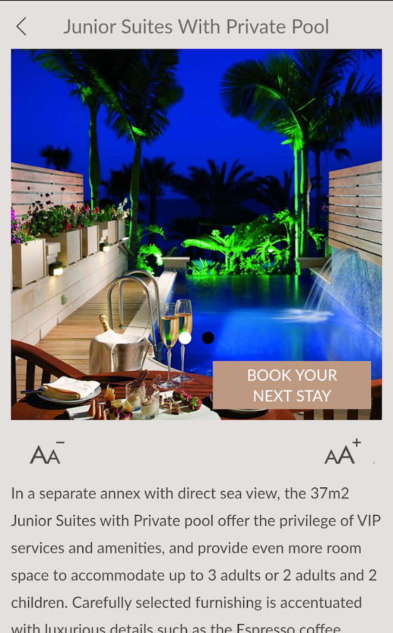 Amathus Beach Hotel Limassol Official App- screenshot