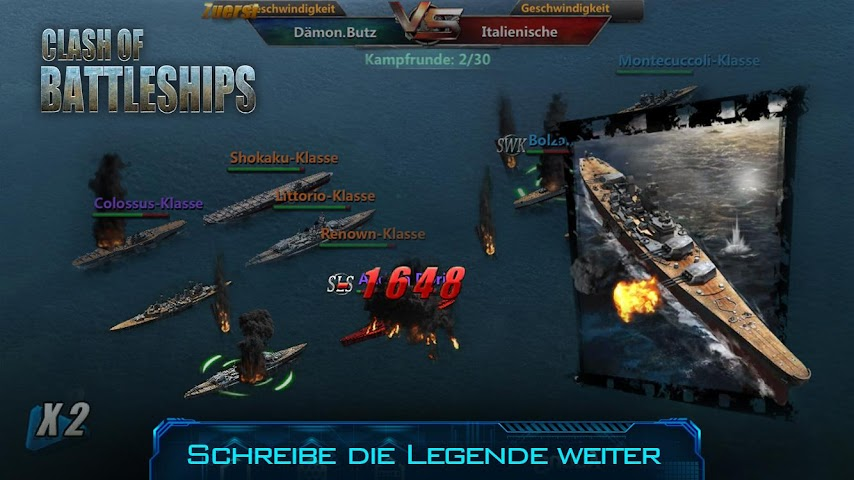 android Clash of Battleships Screenshot 4