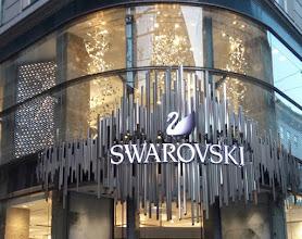 Photo: Leuchtschrift SWAROVSKI - Wien I