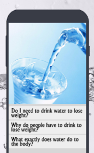 How to Drink Water to Lose Weight 3