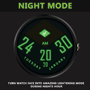 MATERIAL Watch Face HD screenshot 2