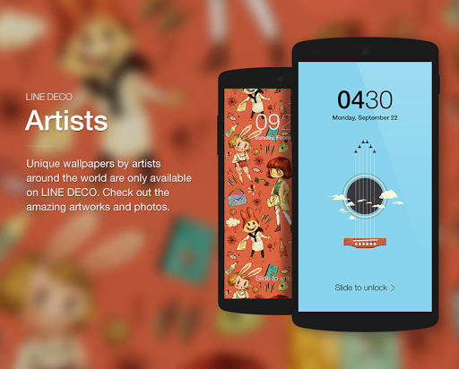 Wallpapers, Icons - LINE DECO screenshot 4
