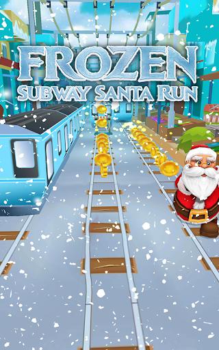 Foto do Subway Santa Run