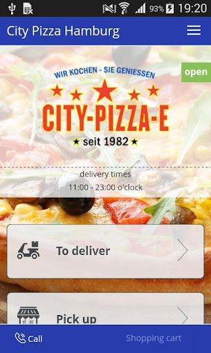 City Pizza Hamburg