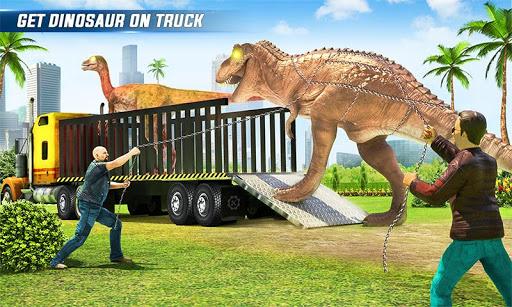 Angry Dino Zoo Transport: Animal Transport Truck 32 screenshots 1