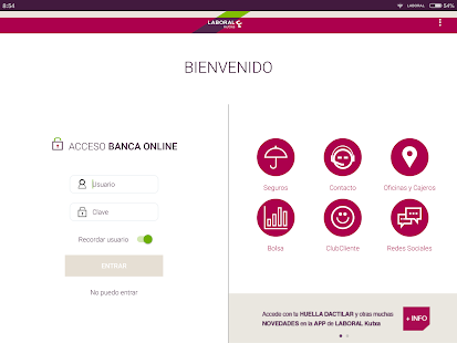 Banca Móvil Laboral Kutxa- screenshot thumbnail