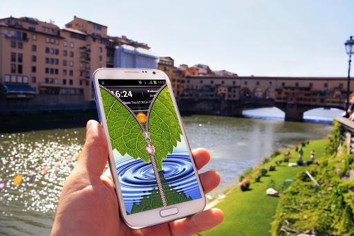 玩個人化App|自然拉链锁屏免費|APP試玩