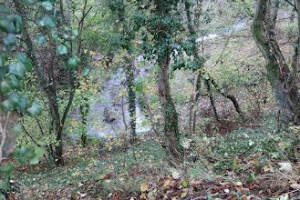 Photo: Le ruisseau Ste Julienne qui passe en dessous de la ligne du tram